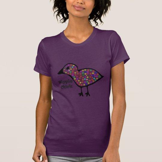 Hippie-Küken T-Shirt