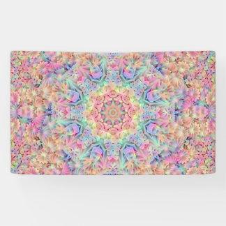 Hippie-Muster-   Fahnen, 4 Größen Banner