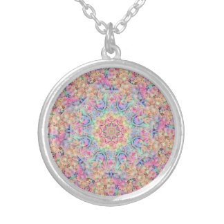 Hippie-Muster-Vintage Kaleidoskop-   Halskette