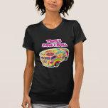 Hippiepackwagen Retro, wie ich rolle T-Shirts