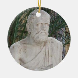 Hippokrates Keramik Ornament