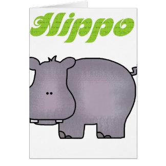 Hippopotamus Karte