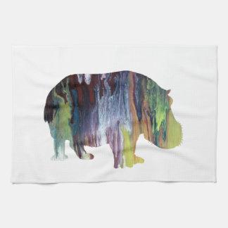 Hippopotamus Küchentuch