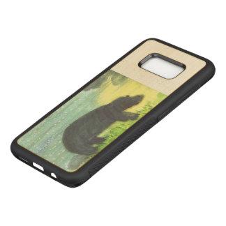 Hippopotamus-Tier-Tier-Kunst Carved Samsung Galaxy S8 Hülle