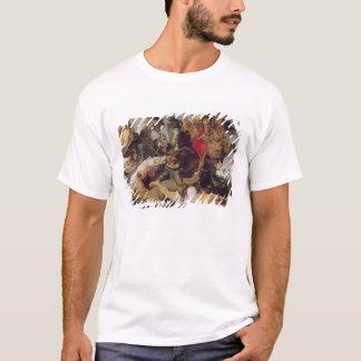 Hippopotamus-und Krokodil-Jagd, c.1615-16 T-Shirt