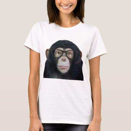 Hipster-Affe T-Shirt