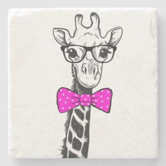 Hipster-Giraffe Steinuntersetzer