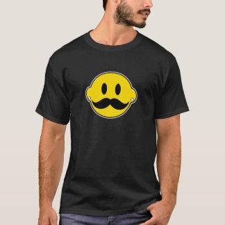 Hipster-glückliches Gesicht T-Shirt