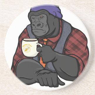 Hipster-Gorilla Untersatz