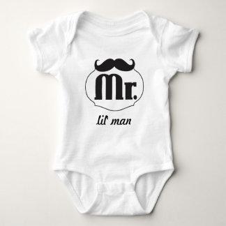Hipster-Herr Lil' Man Baby Baby Strampler