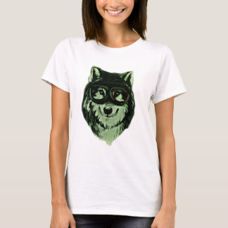 Hipster Dog Wolf Style