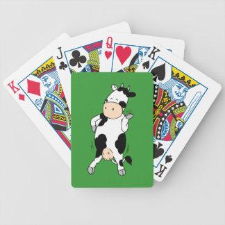 Hipster-Kuh (mooviestars) Bicycle Spielkarten