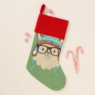 Hipster-Lama-Strumpf Weihnachtsstrumpf