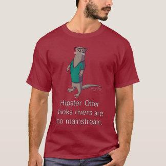 Hipster-Otter-T - Shirt