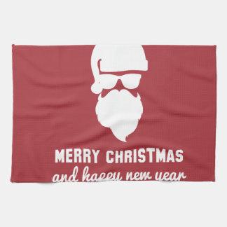 Hipster-Weihnachten Handtuch