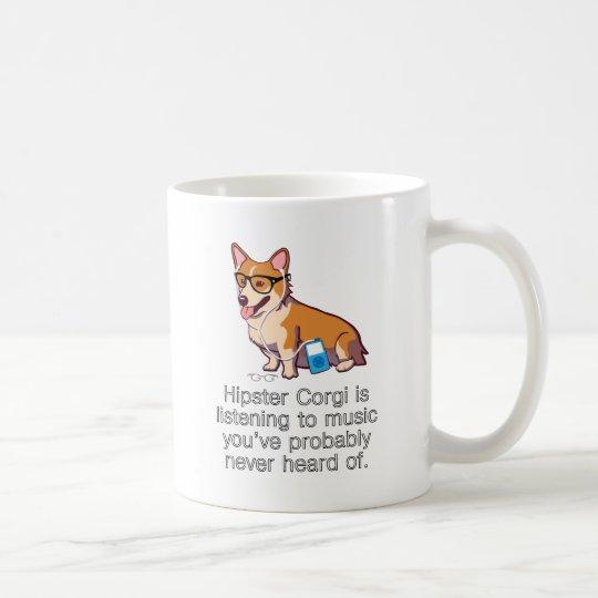 HipsterCorgi Kaffeetasse