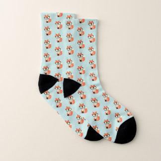 Hipsterroter Fox Socken