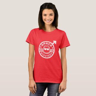 Hipsters® der Raum der Frauen Mars-Team-T - Shirt