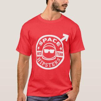 Hipsters® der Raum der Männer Mars-Team-T - Shirt