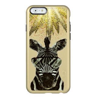 Hipsterzebra-Art-Tier Incipio Feather® Shine iPhone 6 Hülle