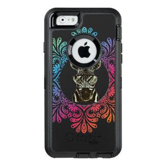 Hipsterzebra-Art-Tier OtterBox iPhone 6/6s Hülle