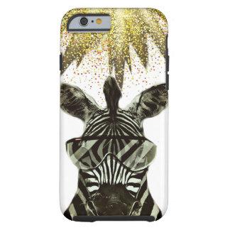 Hipsterzebra-Art-Tier Tough iPhone 6 Hülle