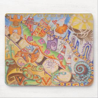 histoire de conte de fées tapis de souris