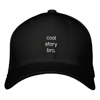 histoire fraîche bro. casquette de baseball