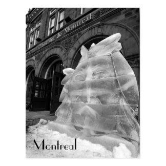 Historische Mitte Montreals Postkarte