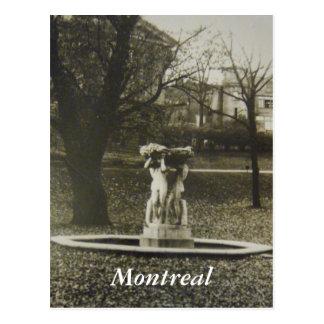 Historische Montreal-Postkarte Postkarte