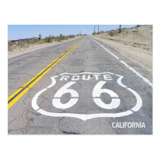 Historische Postkarte des Weg-66!