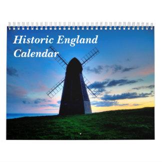 Historischer England-Kalender Kalender