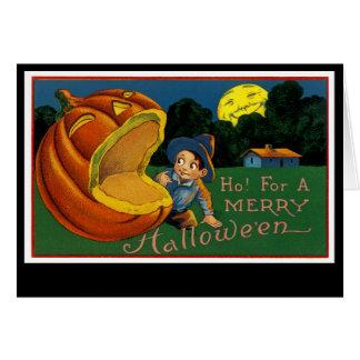Ho! für ein fröhliches Halloween Karte