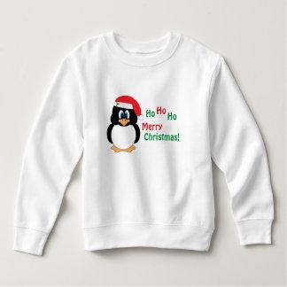 Ho Ho Ho frohe Weihnacht-Pinguin-Sweatshirt Sweatshirt