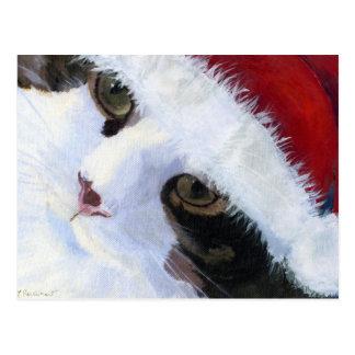 Ho Ho Miezekatze-Katze Postkarte