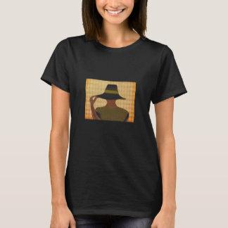Hoch entwickelte Dame T-Shirt