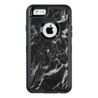 Hoch entwickeltes schwarzes abstraktes OtterBox iPhone 6/6s hülle