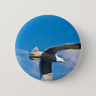 Hoch fliegen runder button 5,7 cm