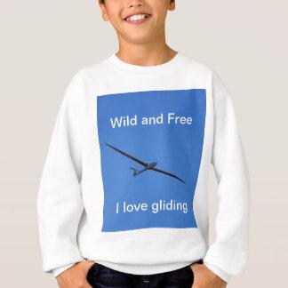 Hoch fliegen sweatshirt