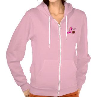 Hoch und entschlossen hoodies
