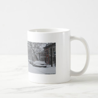 Hochebene Montreal im Winter Kaffeetasse