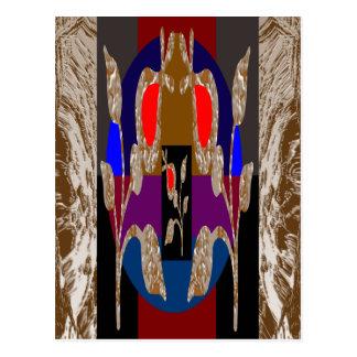 Hochenergie-dekorative Juwelen Postkarte