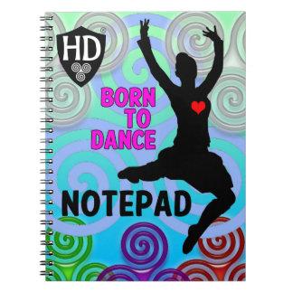 Hochland-Tänzer-Notizblock #2 Spiral Notizblock