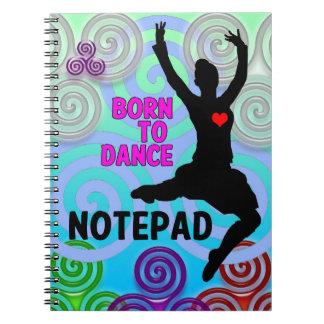 Hochland-Tänzer-Notizblock Notizblock