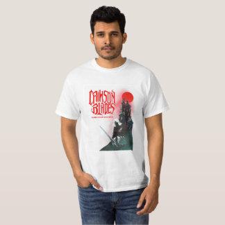 Hochrotes Blatt-T-Shirt T-Shirt