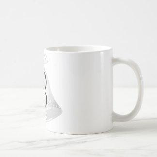 Hochzeit Bell mit Monogramm Kaffeetasse