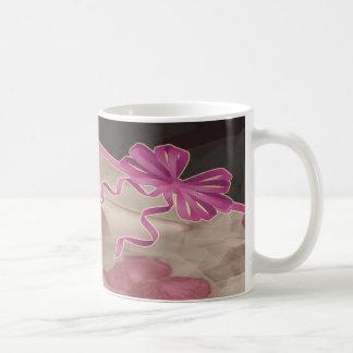 Hochzeit beschuht Rosen-Blumenblatt-Set Kaffeetasse