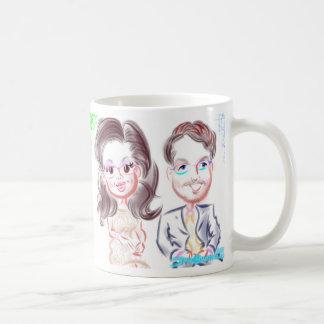 Hochzeit Caricatures Tasse 2015b
