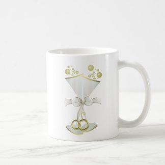 Hochzeit Glasringe Tasse