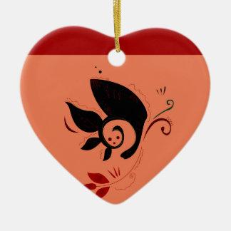 Hochzeit Hennastrauch/SOMMER VERZIERT deluxes Keramik Ornament
